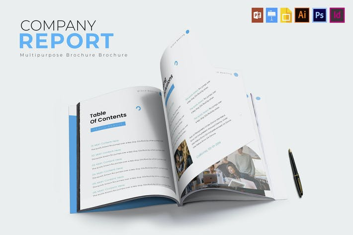 Company Brand | Report Template