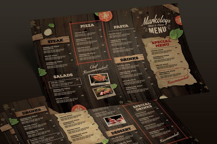 Thumbnail for Rustic Menu Board