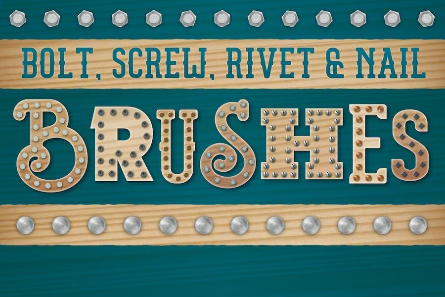 Bolt, Screw, Rivet & Nail Brushes