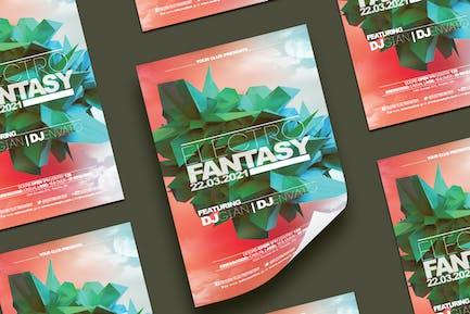 Electro Fantasy  Flyer