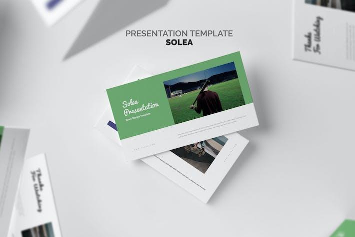 Solea: Спортивный Keynote