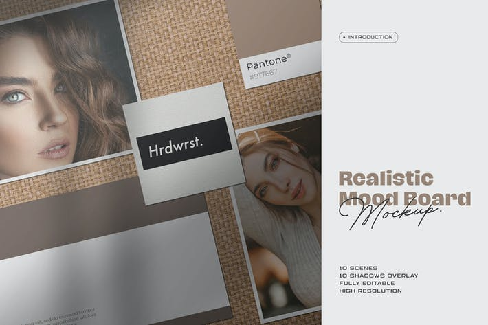 Cover Image For Moodboard Mockup Kit