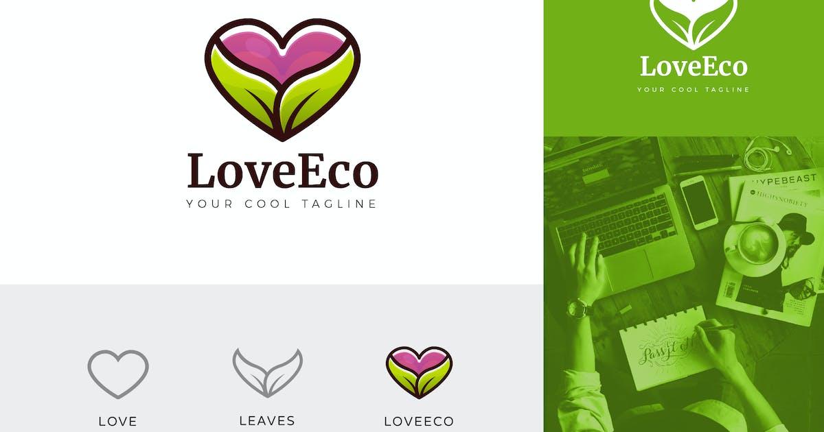 Download Love Eco Corporate Logo Vector Template by naulicrea