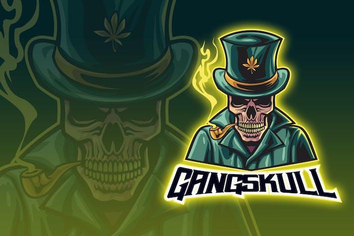 Thumbnail for Skull Gangster Esport Logo