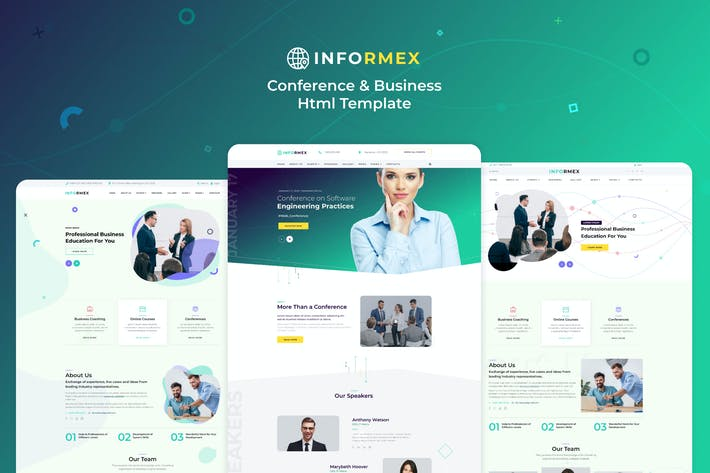 Thumbnail for Informex | Conference & Business Html Template