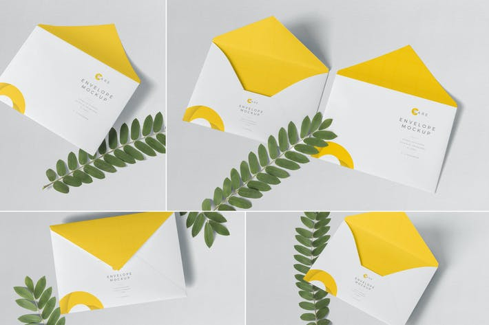 Thumbnail for C5 Envelope Mockups