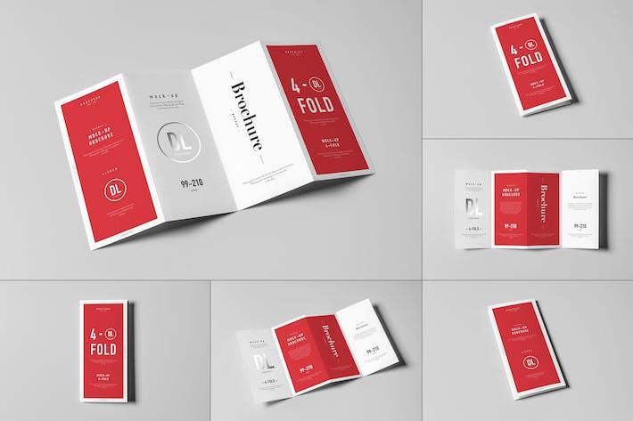 Thumbnail for 4xDL Brochure Mock-up
