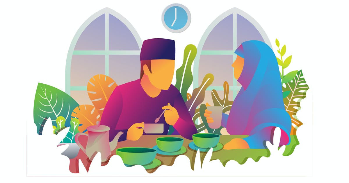 Download Moslem Dinner by Olexstudio