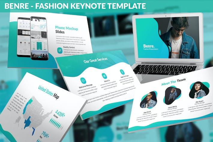 Thumbnail for Benre - Fashion Keynote Template