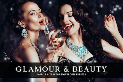 пресет Glamour & Beauty для мобильных и настольных компьютеров Lightroom
