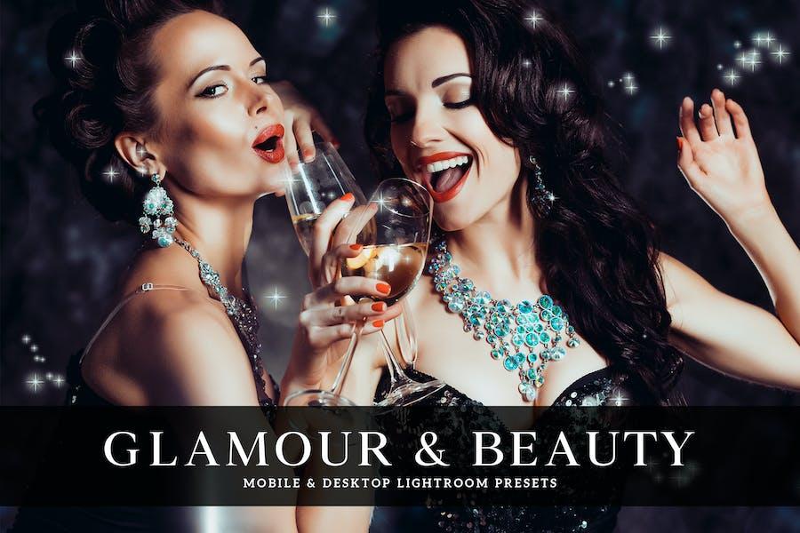 Glamour & Beauty Mobile & Desktop Lightroom Preset