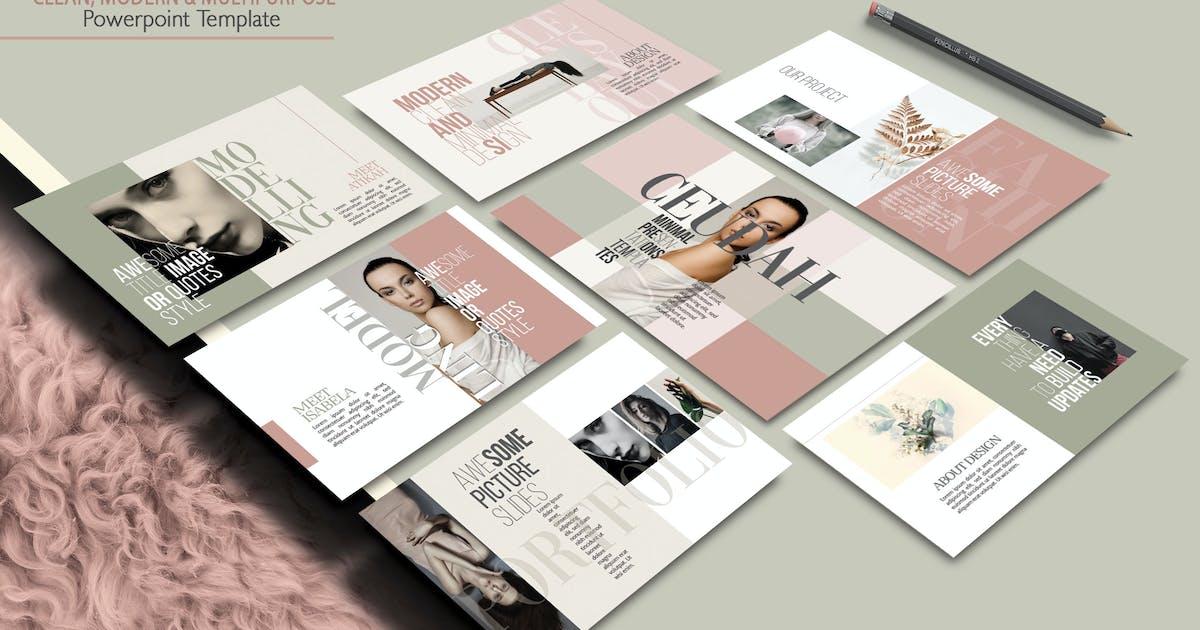 Download Ceudah - Minimal Fashion Powerpoint Template by joelmaker