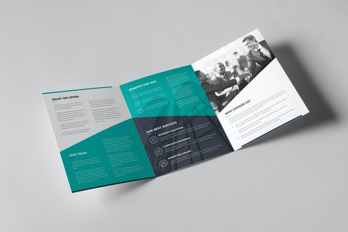 Thumbnail for Brochure – Corporate Tri-Fold A5