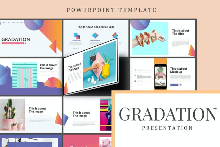 Thumbnail for Gradation - Powerpoint Template