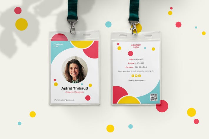 Thumbnail for Playful ID Card