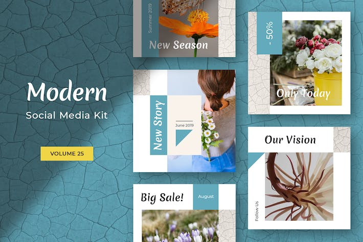 Thumbnail for Modern Social Media Kit (Vol. 25)