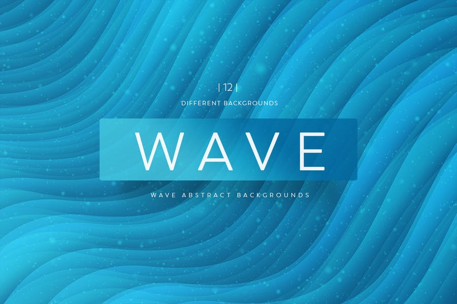 Wave Abstract backgrounds