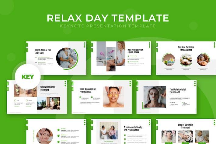 Relax Day - Шаблон Keynote