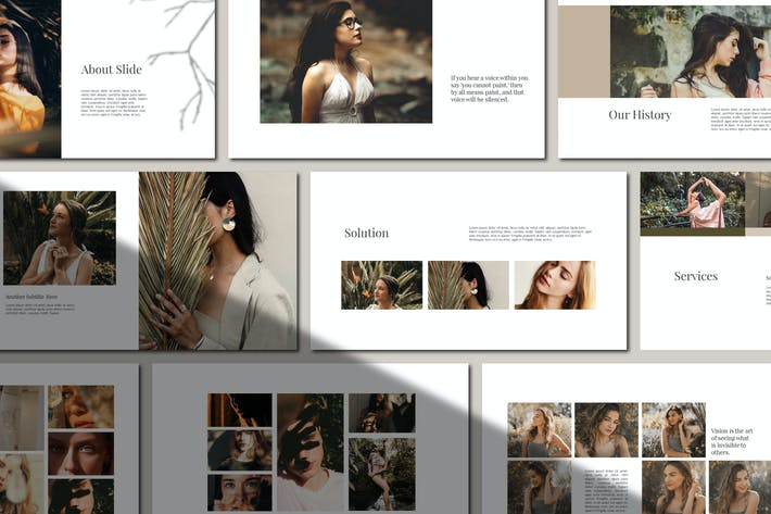 Thumbnail for Kupula - Fashion Minimal Powerpoint
