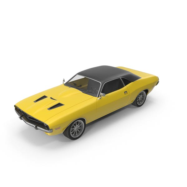 Thumbnail for Retro Car Yellow