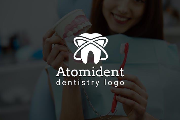 Atomident : Dental / Dentist Logo