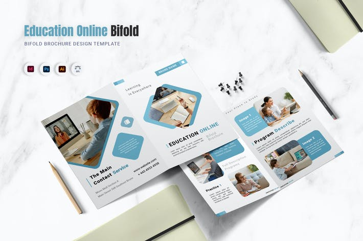 Education Online Bifold Brochure