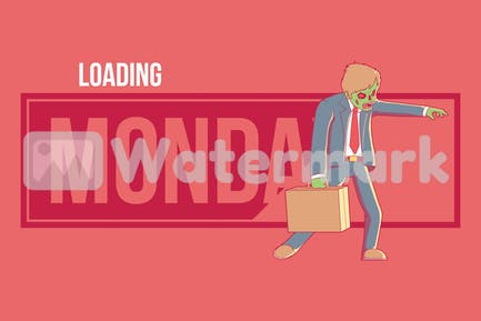 Monday Zombie Loading
