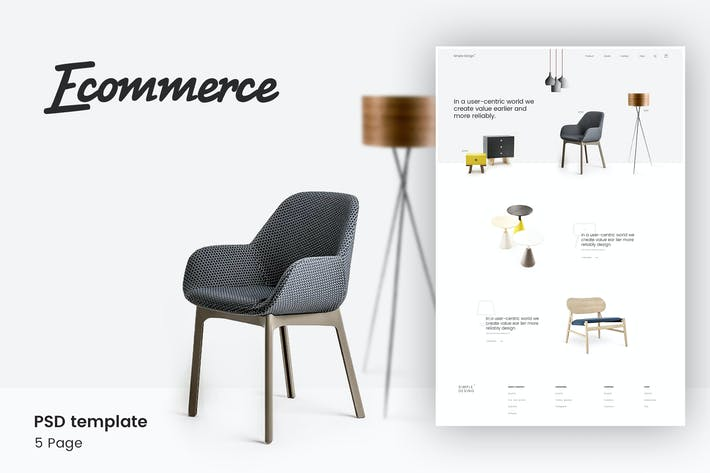 modern store template