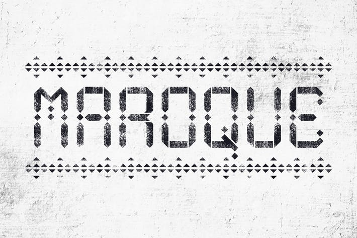 Cover Image For Maroque Stencil