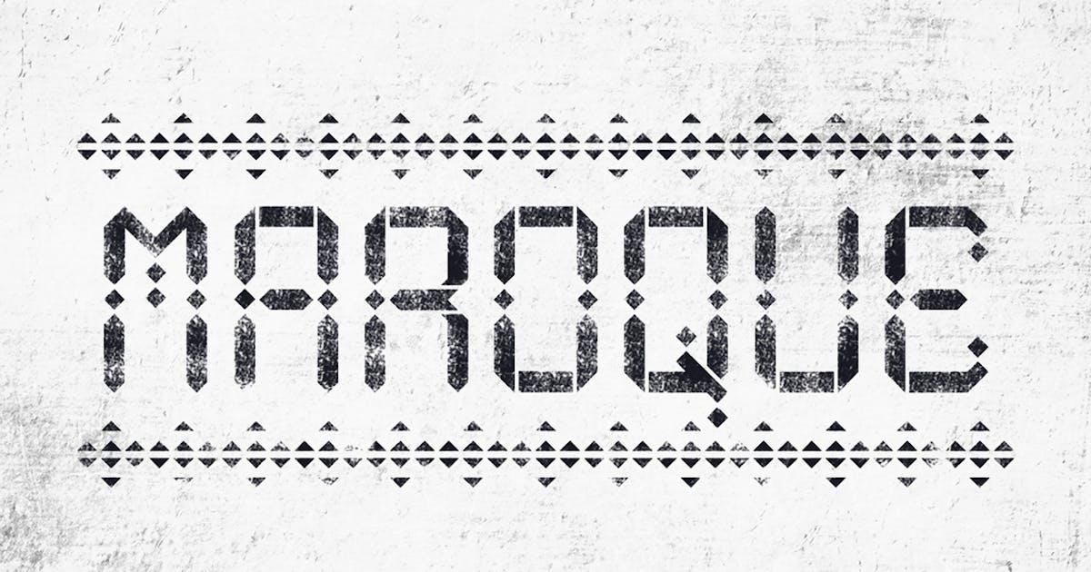 Download Maroque Stencil by hellomartco