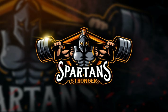 Spartans Stronger - Mascot & Esport Logo