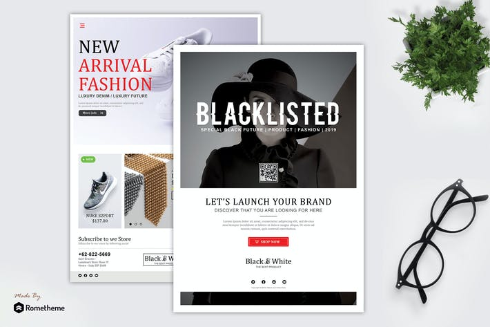 Thumbnail for Blacklisted - Product Promotion Flyer HR