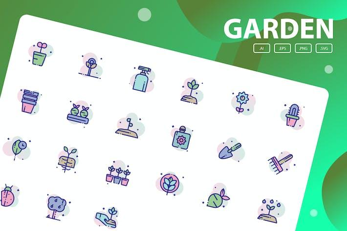 Thumbnail for Pack d'icônes de jardin