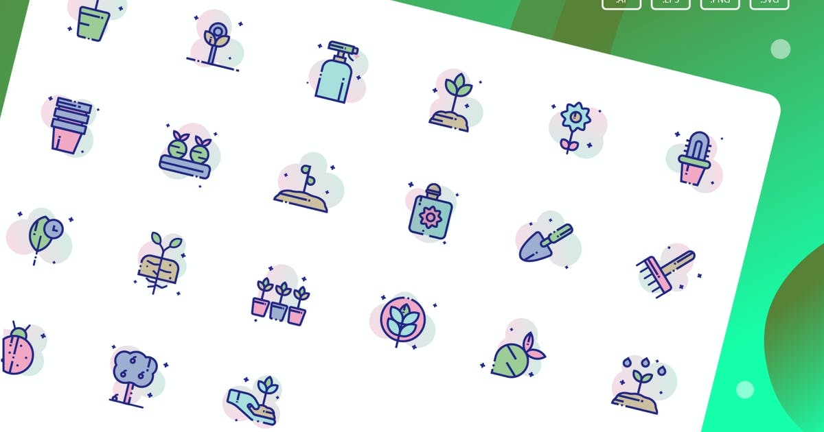 Download Garden Icon Pack by inspirasign