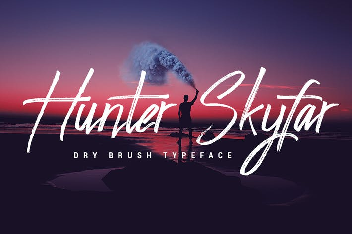 Thumbnail for Hunter Skyfar - Dry Brush Script