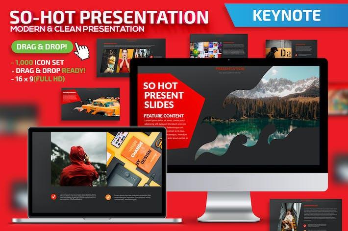 Презентация «So-Hot Keynote»