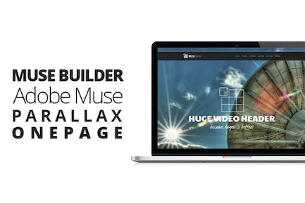 Muse Builder | Parallax OnePage Template For Muse