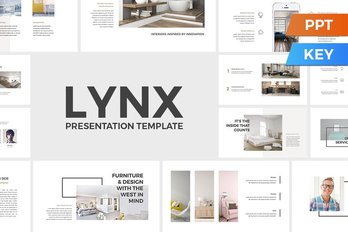 Thumbnail for Lynx PowerPoint / Keynote Presentation Template