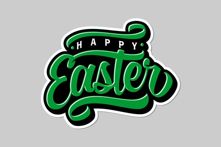 Thumbnail for Happy Easter Lettering