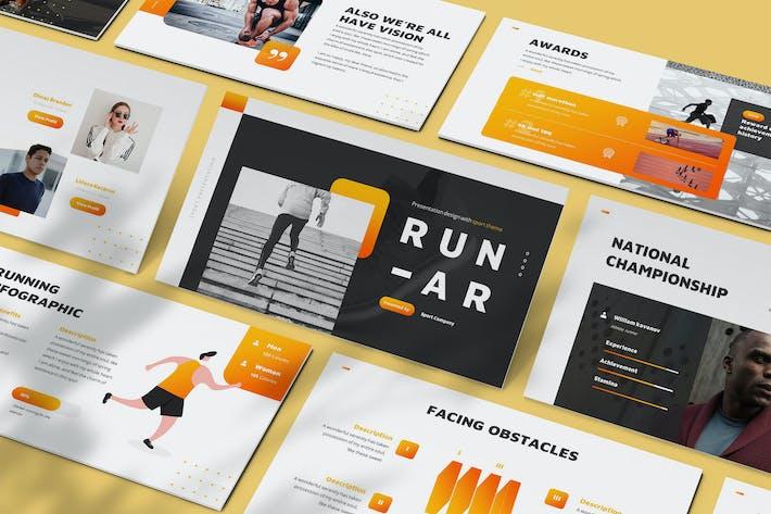 Runar - Sport Powerpoint Template