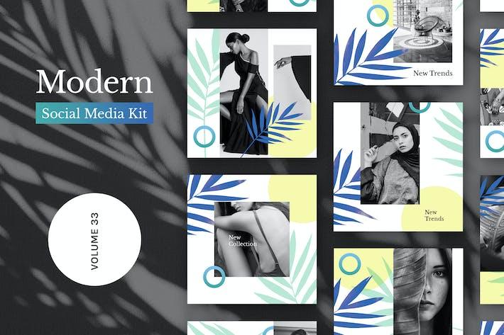 Thumbnail for Modern Social Media Kit (Vol. 33)