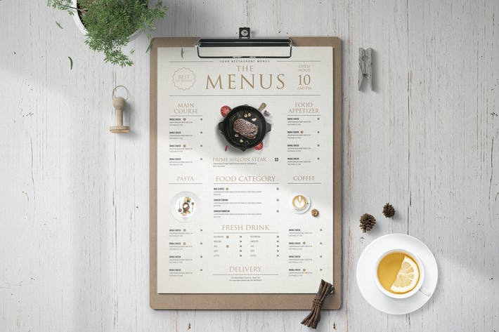 Thumbnail for MODERN FOOD MENU