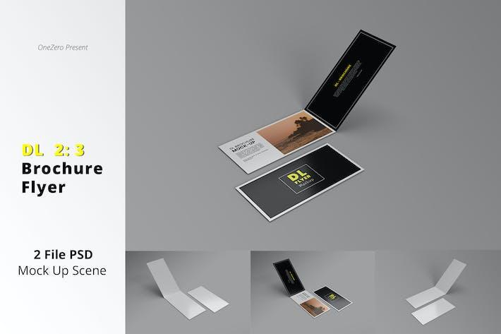 Thumbnail for DL Brochure & Flyer Mockup