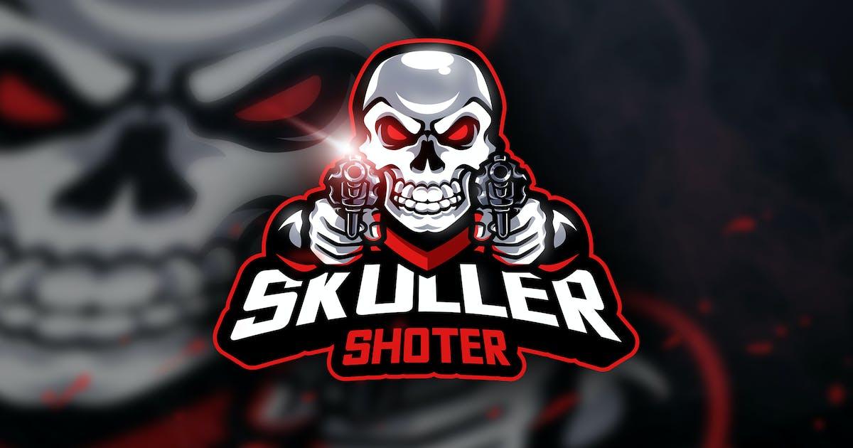 Skuller Shoter - Mascot & Esport Logo by aqrstudio