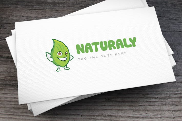 Thumbnail for Naturaly Logo Template