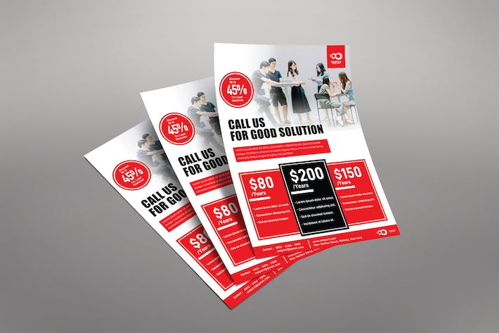 Thumbnail for Business Pricing Plan Flyer