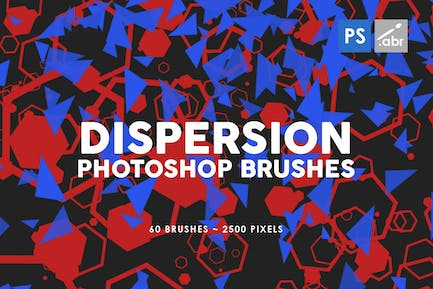 60 Dispersion Photoshop Stamp Brushes