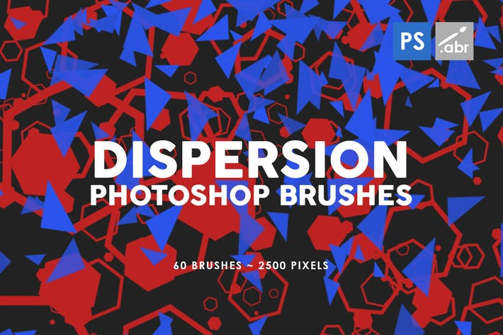 Thumbnail for 60 Dispersion Photoshop Stamp Brushes