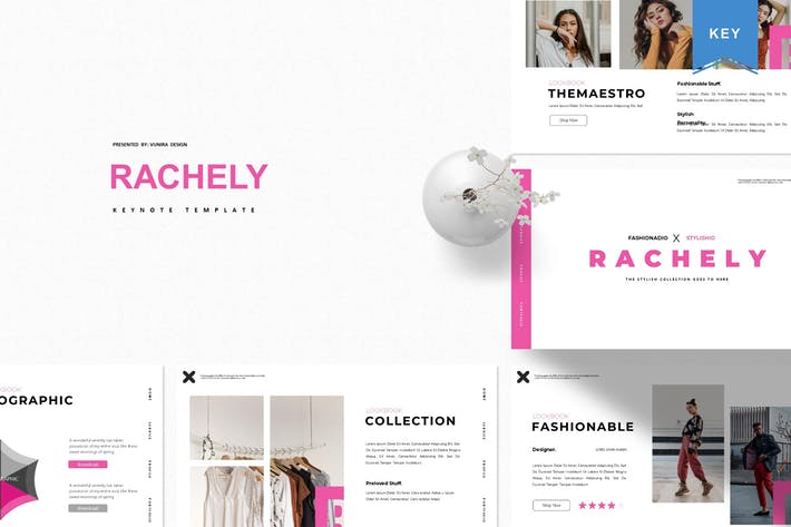 Rachely | Keynote Template