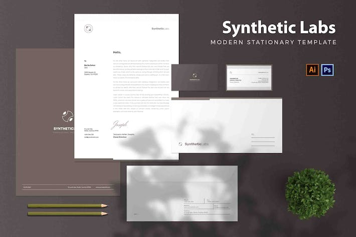 Thumbnail for Syntethtic Labs - Stationary